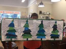 I Can Even See These Trees Making A Fantastic Tree Skirt Gi Will Show You How To Make This Fun Project Using Special Ruler And Your Stash Fabrics