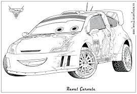 Disney Pixar Cars Coloring Pages Free Printable Car Sheet On Pdf