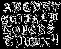 5 Free Graffiti Alphabet Fonts Style Tutorial Word Art