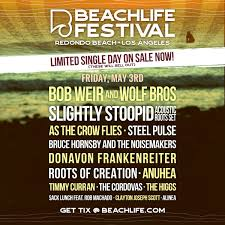 BeachLife Festival Single Day Tickets On Sale NOW South Bay By