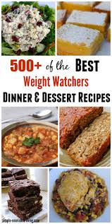 Weight Watchers Pumpkin Mousse Points Plus by 500 Weight Watchers Recipes For Dinner And Dessert