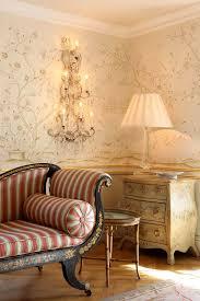 exklusive luxus tapete wohnzimmer blumen motiv beige creme