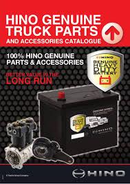 100 Hino Truck Parts Bus Catalogue Q1 2015