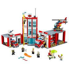 LEGO City Fire Station 60110 - LEGO - Toys