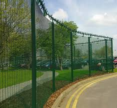 The Drawing Of Anti Climb Fence Installation Including Additional Security Features Gallery