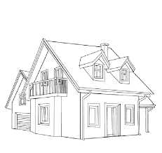 House Coloring Pages Educaty