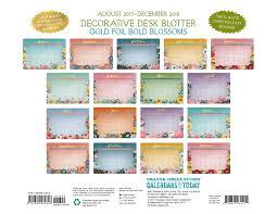 100 personalized desk blotter calendar 100 decorative desk