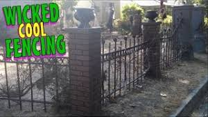 Halloween Cemetery Fence by Cheap Brick Fence Pillars Find Brick Fence Pillars Deals On Line