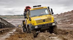100 Www.trucks.com Unimog U 4000 U 5000 Torsional Flexibility Mercedes