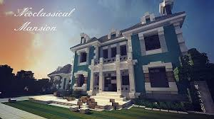 Neoclassical House Neoclassical Mansion Wok Minecraft Map