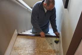 Installing Pergo Laminate Flooring On Stairs by The Yellow Cape Cod Our New Floors Goodbye Carpet