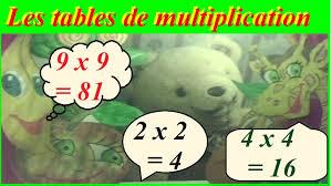 comment apprendre table de multiplication méthode pour apprendre les tables de multiplication de 1 à 10 en s