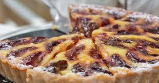 dessert aux quetsches recette recette la tarte aux prunes à l alsacienne