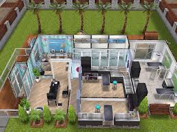 Sims Freeplay Second Floor by House 93 Small Vet Clinic Sims Simsfreeplay Simshousedesign