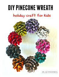 Pinecone Crafts Kids Can Play With