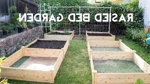 garden greenes fence raised garden bed regarding staggering