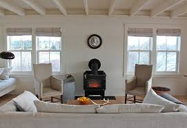 White Is A Great Choice For Small Rustic Living Rooms From Justine Hand