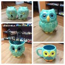 Owl Kitchen Items So Cute Love The Colors And Of