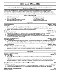 Commercial Banker Resume Best Examples Mercial Banking At Sample Ideas