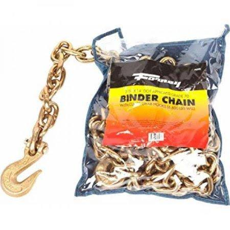 Forney 70398 Binder Chain 3/8 inch by 14 Feet