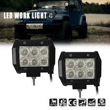 2x 18w LED Flood Light Work Lamp For Wagner Tractor Truck John Deere ... Led Work Lights For Truck 2 Pcs 6 Inch Light Bar 45w 12v Flood Led Work Day Light Driving Fog Lamp 4inch 72w Bar Road Headlight Work Lights Spot Offroad Vehicle Truck Car Vingo 4x 27w Round Man 4 Inch 48w Square Off 24v Cube Design For Trucks 3 Row Suv Boat Or Jeeps 2pcs Beam Tractor China Offroad Atv Jeep Jinchu Safego 2x 27w Led Offroad Lamp 12v Tractor New Automotive 40w 5000lm 12 Volt