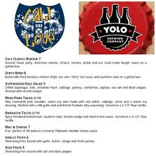 We're At YOLO Brewing Company Tonight... - Cali Love Food Truck ...
