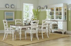 Hillsdale Pine Island 7 PC Dining Set With Ladder Back Chairs
