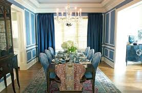 Formal Dining Room Curtains Ideas How To Use Dark Shape A Dramatic Cozy Interior Shades Of