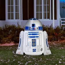 Walmart Halloween Blow Up Decorations by Gemmy Airblown Inflatable 4 U0027 X 4 U0027 Star Wars R2d2 Walmart Com