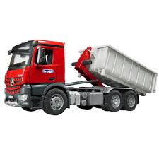 Buy Bruder Toys ABS Plastic Mb Arocs Truck With Roll-Off-Container ...