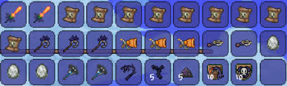 Pumpkin Moon Terraria Farm by So I Managed To Complete My First Pumpkin Moon With The New Magic