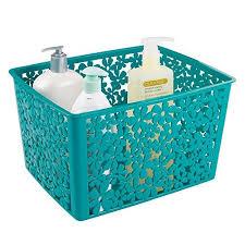 Teal Color Bathroom Decor by Teal Bathroom Accessories Amazon Com