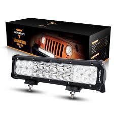 Best Rated In Automotive Light Bars & Helpful Customer Reviews ... Off Road Lights Headlights Fog For Jeep Truck Kc Hilites 10x 12v 24v Cup 3 Inch 10w Led Cup Light Vehicle Safety Lighting Safetywhipscom Industrial And Mine Warning Hb 8 Interior Sucker Led Warning Safety Lights Car Dawson Public Power District The Anatomy Of A Maintenance Truck Chrome Bars For Trucks A Best Custom Resource Youtube Agricultural Custer Products Amazoncom Genssi Beacon Strobe Roof Tow Function 2 Pieces Forklift 12v 10w Off Road Blue Cstruction Commercial