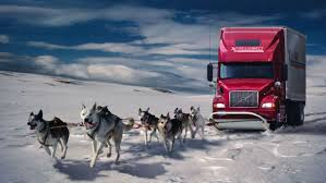 100 Trucks In Snow Dogs Trucks Fantasy Art Digital Art Artwork Wallpaper