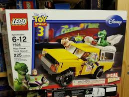 Used LEGO Disney Toy Story Pizza Planet Truck7598 In W9 Westminster ... Spacecoast Livings Toy Drive Event Todd The Pizza Planet Truck Lego 7598 Story Rescue Brand New In Box Truck Props Pinterest Planet And Realistic Replica Of From Imgur Lego Guys Most Recent Flickr Photos Picssr Pull Go Vehicle Train Monster Pickup Dump Pipe Amazoncom Mattel And Buzzs Used Disney Truck7598 W9 Weminster Res 1536 Metal Stamped Replica Pinteres Blazer Replace Gta5modscom Gmc Syclone Delivery Paint Booth Forza Motsport