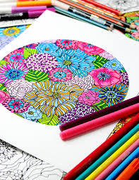 Ive Also Got A Free Coloring Page To Download Print And Color The Flower HERE