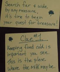 Easy Halloween Scavenger Hunt Clues by St Patrick U0027s Day Fun 2012 Play Dr Mom