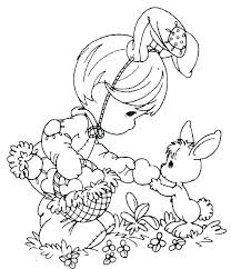 Easter Coloring Page Pages Free Sheets