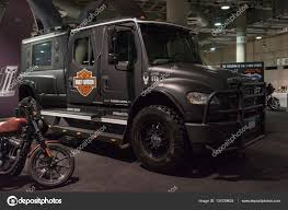 Customized Big Truck Harley-Davidson – Stock Editorial Photo ... 2006 Ford F150 Harley Davidson Supercab Pickup Truck Item Unveils Limited Edition 2012 Harleydavidson 2003 Supercharged Truck 127 Scale Harley F350 Super Duty Pickup 2000 Gaa Classic Cars Stock Photos Ma3217201 1999 2009 Crew Cab Diesel 44 One New 2010 Tough With Cool Attitude Edition Pics Steemit And Trailer Advertising Vehicle Wraps