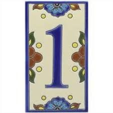 mexican tile puebla house address number