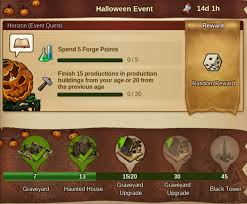 Forge Of Empires Halloween Event 2014 by Event Halloween 2017 Forge Of Empires Forum