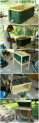 25+ Unique Deck Cooler Ideas On Pinterest | Pallet Cooler, Diy ... Patio Cooler Stand Project 2 Patios Cabin And Lakes 11 Best Beverage Coolers For Summer 2017 Reviews Of Large Kruses Workshop Party Table With Built In Beerwine Ice How To Build A Wood Deck Fox Hollow Cottage Diy Your Backyard Wheelbarrow Foil Smoker Outdoor Decorations Beer Wooden Plans Home Decoration 25 Unique Cooler Ideas On Pinterest Diy Chest Man Cave Backyard Our Preppy Lounge Area Thoughtful Place