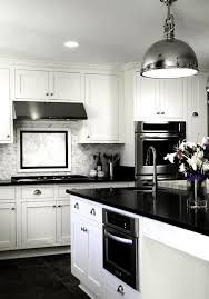 black and white kitchen dcor white kitchen cabinets modern