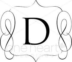 Classic Monogram D