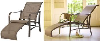 Patio Furniture Home Depot Martha Stewart by Home Depot Martha Stewart Living Reclining Patio Lounge Chair