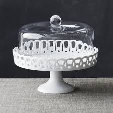 Sophia Cake Stand With Glass Dome