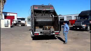 Freightliner Garbage Truck Youtube