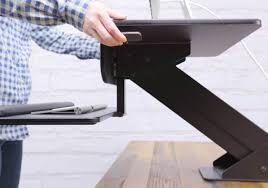 Standing Desk Conversion Kit by Uplift Standing Desk Converter Gadget Flow