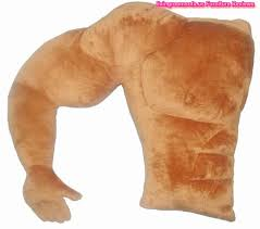 Unique Design Funny Boyfriend Arm Body Pillow With Arm