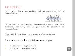 bureau d une association td grh licence 3 developpement social ppt télécharger